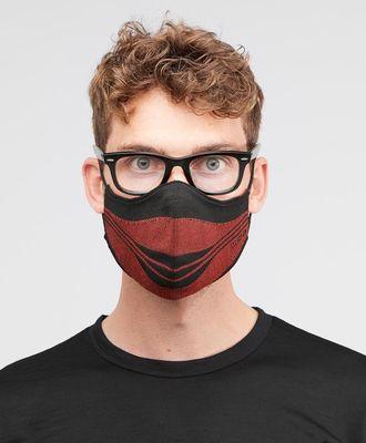 henjl masques m100 noirrouge mixte